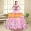 ชุดพรีเวดดิ้ง ลอนผ้าแบบดอกไม้-ชุดสีชมพูอ่อน APD-2017-024 (Pre-Order) เกรด Premium thumbnail 1