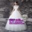 ชุดแต่งงานราคาถูก กระโปรงสุ่ม เปิดหลัง ws-039 pre-order thumbnail 1