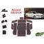 WASABI ซิลิโคนปูพื้นผิวคอนโซล รุ่น Accord 09-13 (สีดำ) thumbnail 2