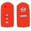WASABI ซิลิโคนกุญแจ Mazda 2,3 Sedan 4 ประตู (สีแดง) แถมฟรี ผ้าไมโครไฟเบอร์ อย่างดี 1 ผืน thumbnail 2