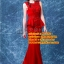 ชุดแต่งงาน [ ชุดพรีเวดดิ้ง ] PD-050 รัดรูป สีแดง (Pre-Order) thumbnail 1