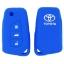 WASABI ซิลิโคนกุญแจ Toyota Altis 2014,Revo (สีน้ำเงิน) แถมฟรี ผ้าไมโครไฟเบอร์ อย่างดี 1 ผืน thumbnail 2