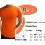 COTTON100% เบอร์20 เสื้อยืดแขนสั้น คอกลม สีส้ม thumbnail 1