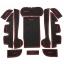 WASABI ซิลิโคนปูพื้นผิวคอนโซล รุ่น Camry 14 (สีดำ) thumbnail 1