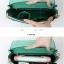 พร้อมส่งกระเป๋าคลัทซ์และสะพายข้าง แฟชั่นเกาหลี Axixi-11818 แท้ สีเขียว thumbnail 2