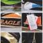 กระเป๋า Eagle ใบกลางสีดำ/ทอง/ส้ม thumbnail 4