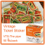 Vintage Ticket Sticker [VTS-The pipe] thumbnail 1