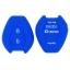 WASABI ซิลิโคนกุญแจ Isuzu D-Max (สีน้ำเงิน) แถมฟรี ผ้าไมโครไฟเบอร์ อย่างดี 1 ผืน thumbnail 2