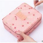 กระเป๋าใส่เครื่องสำอางค์ และใส่ของใช้ในห้องน้ำ #Pink Cherry