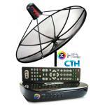 ชุดจานดาวเทียม GMM Z รุ่น HD LITE ระบบ C Band ราคา 3,200 บาท พร้อมติดตั้ง 4,500 บาท รับประกัน 1 ปี