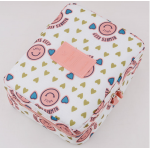 กระเป๋าใส่เครื่องสำอางค์ และใส่ของใช้ในห้องน้ำ #Pink Face