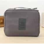 กระเป๋าใส่เครื่องสำอางค์ และใส่ของใช้ในห้องน้ำ #Gray