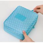 กระเป๋าใส่เครื่องสำอางค์ และใส่ของใช้ในห้องน้ำ #Blue Wave Point