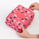 กระเป๋าใส่เครื่องสำอางค์ และใส่ของใช้ในห้องน้ำ #Sunflower Pink