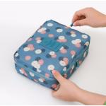 กระเป๋าใส่เครื่องสำอางค์ และใส่ของใช้ในห้องน้ำ #Sunflower Blue