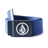 Volcom Circle Web Belt - Matured Blue