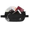 กระเป๋าใส่พาสปอร์ตคาดเอว ใส่เอกสารสำคัญ ป้องกันการขโมยข้อมูลด้วยคลื่น RFID มีสองสีให้เลือก