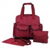 Ecosusi กระเป๋าเป้คุณแม่ ใส่ผ้าอ้อม 3 Wayแฟชั่นลายสวย หิ้ว-พาดลำตัว-สะพายหลังได้ ใบใหญ่ ทนทาน ช่องใส่ของเยอะ