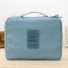 กระเป๋าใส่เครื่องสำอางค์ และใส่ของใช้ในห้องน้ำ #Faint Blue