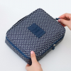 กระเป๋าใส่เครื่องสำอางค์ และใส่ของใช้ในห้องน้ำ #Navy Blue Stars