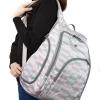 กระเป๋าเป้ ขนาดใหญ่ ใส่สัมภาระสำหรับคุณแม่ มาพร้อมแผ่นรองเปลี่ยนผ้าอ้อม, สายคล้องรถเข็น, ช่องเก็บความร้อน-เย็น ทั้งสองด้าน (Ecosusi Travel Large Backpack Diaper Bag for Girl with Changing Pad, Stroller Strap,Insulated Side Pockets)