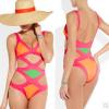 ชุดว่ายน้ำวันพีช สีสันสดใส