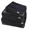 Ecosusi 3 Set Packing Cubes - ชุดจัดกระเป๋าเดินทางคุณภาพดีมาก 3 ใบต่อชุด ใส่เสื้อ, กางเกง, กระโปรง, ผ้าขนหนู (รับประกัน 90 วัน)