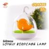 Lovely Birdcage Lamp โคมไฟกรงนก เปิดปิดระบบสัมผัส สีส้ม