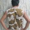 เสื้อแขนกุดลายทหาร Sleeveless Tee Army 14