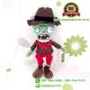 ตุ๊กตาซอมบี้ผ้าพันคอสีแดง 30CM [Plants vs. Zombie]