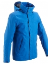 QUECHUA Men's Waterproof Jacket (Blue)