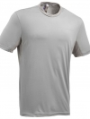Quechua T-Shirt เดินป่า สำหรับผู้ขาย - Bright Grey