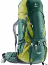 DEUTER Aircontact 65 + 10 forest-moss (green)