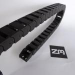 15 x 20 mm Cable Drag Chain 1000mm เปิดฝาวางสายได้ และ End Fits หัวท้าย