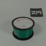สีเขียว สายไฟอ่อน 24 AWG (แบ่งขายช่วงละเมตร)