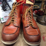 Vintage RED WIN 8131made in USA size 9E