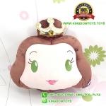 หมอนหน้าเจ้าหญิงเจ้าหญิงเบลล์ Belle 14 นิ้ว [Disney Princess]