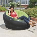 Empire Chair โซฟาเป่าลม สีเขียว