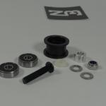 Nylon ABS spacers Idler Pulley wheel kits for v-slot belt system