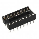 16 PIN DIP IC Socket (ขาแบน)
