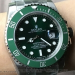 ROLEX SUBMARINER GREEN CERAMIC V7 5A