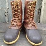 Vintage LLBEAN Boot size 5 ตัวนี้ ปีลึก ป้ายเก่า หายากครับ 1500