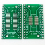SOP28 SSOP28 TSSOP28 to DIP28 PCB Adapter Plate