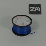 สีน้ำเงิน สายไฟอ่อน 24 AWG (แบ่งขายช่วงละเมตร)