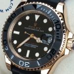 Rolex Yacht Master Everose Gold Ceramic