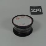 สีดำ สายไฟอ่อน 24 AWG (แบ่งขายช่วงละเมตร)