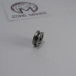 623ZZ V groove roller wheel ball bearings 3x12x4 mm (Carbon steel)