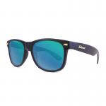 Knockaround Fort Knocks Sunglasses - Matte Black / Green Moonshine