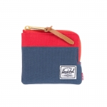 Herschel Johnny Wallet - Navy/Red