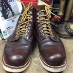 รองเท้า RED WING 8134 สี chocolate chrome หัวมน สีน้ำตาล รุ่นหายาก